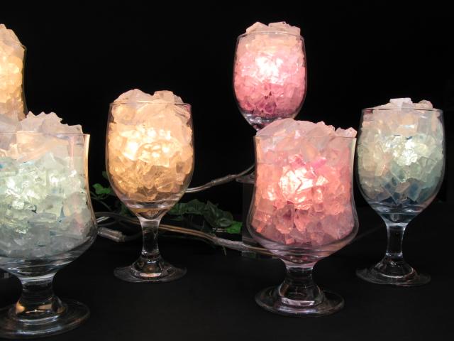 グラス岩塩ランプ【ソルトランプ】・ラジャクイーン本店